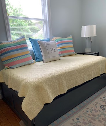 Orleans Cape Cod vacation rental - Trundle Bed Main Floor with window air conditioner