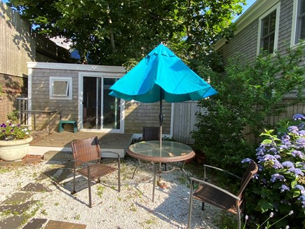 Provincetown, Near the center Cape Cod vacation rental - Private back area (the shack is part of the property)