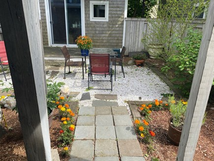 Provincetown, Near the center Cape Cod vacation rental - Private garden. The building you see is part of the property.