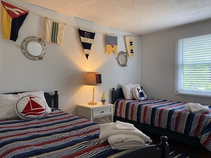 South Chatham Cape Cod vacation rental - Bedroom #3 with two twin beds, our kids adore this room