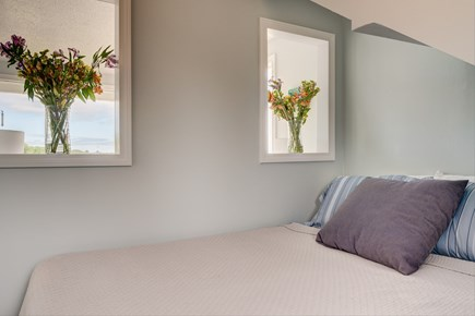 South Yarmouth Cape Cod vacation rental - Bedroom 2 with pass through windows to bedroom 1