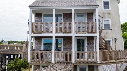 South Yarmouth Cape Cod vacation rental - 2nd and 3rd floor unit