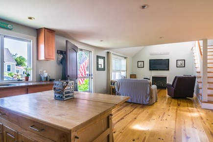 Sandwich Cape Cod vacation rental - Entry into open Living/Kitchen space