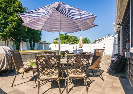 Sandwich Cape Cod vacation rental - Outdoor dining on patio