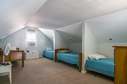 Sandwich Cape Cod vacation rental - Loft style Bedroom with 3 Twins