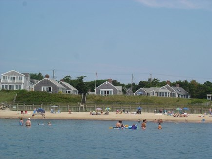 Dennis Port Cape Cod vacation rental - Water view of private Dennis Seashores beach