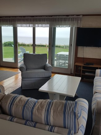 Dennis Port Cape Cod vacation rental - Ocean views from the living room