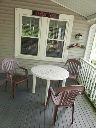 Falmouth Heights Cape Cod vacation rental - Dine out on the deck