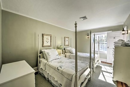 Hyannisport Cape Cod vacation rental - Bedroom 3 - two twin beds