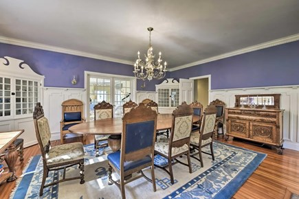 Hyannisport Cape Cod vacation rental - Beautiful family dining room!  Enough room for the whole family!