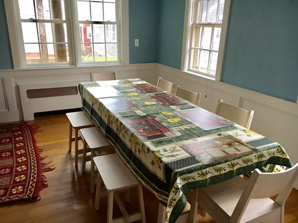 Provincetown, Center of Town Cape Cod vacation rental - Dining area with seating for 8