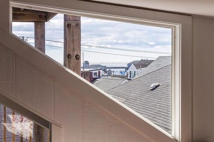 Provincetown, Center of Town Cape Cod vacation rental - Out the window, bedroom 1.