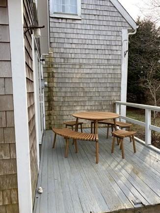 Truro Cape Cod vacation rental - Back deck