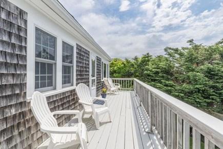 Chatham, Ridgevale Beach area Cape Cod vacation rental - Second story deck