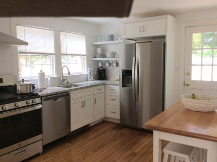 Pocasset, Wenaumet Bluffs Cape Cod vacation rental - Newly renovated kitchen with new appliances, keurig, ice maker