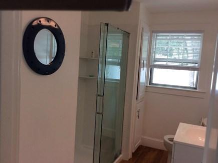 Pocasset, Wenaumet Bluffs Pocasset vacation rental - Bathroom 1 with walk in shower First floor