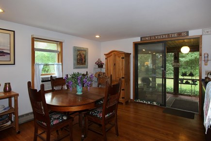 Orleans Cape Cod vacation rental - Dining Area with slider