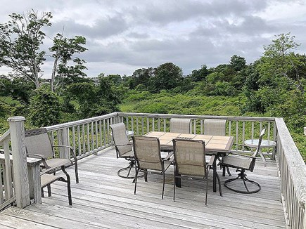 Chatham Cape Cod vacation rental - Deck with Dining Table