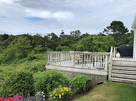 Chatham Cape Cod vacation rental - Deck Overlooking a Conservation Area