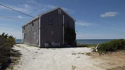 Chatham Cape Cod vacation rental - A View of the House from the Driveway