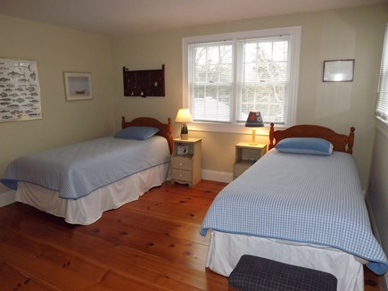Chatham Cape Cod vacation rental - Second Floor Bedroom with Two Twins