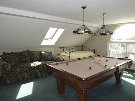 Chatham Cape Cod vacation rental - Third Floor Pool and Lounge Area with Daybed and Full Size Futon