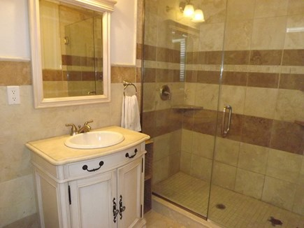 Chatham Cape Cod vacation rental - First Floor Full Bath Off of Office