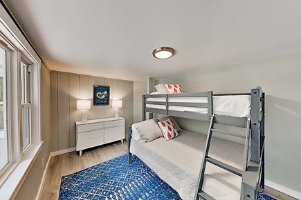Woods Hole Woods Hole vacation rental - Bedroom with full and twin bunk beds (1st floor), A/C, bright