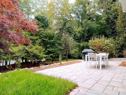 Woods Hole Woods Hole vacation rental - Brand new hardscape patio, dining and grill area + outdoor shower