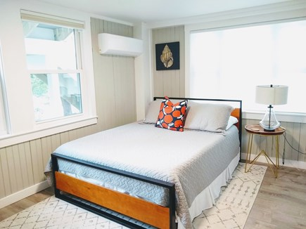 Woods Hole Cape Cod vacation rental - Bedroom (1st floor) with queen bed, A/C, airy and bright