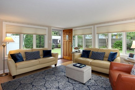 Mashpee, Popponesset Cape Cod vacation rental - Living Room - Access to Back Porch