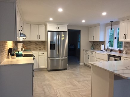 Brewster Cape Cod vacation rental - Newly renovated kitchen. Loads of cookware and dishes.