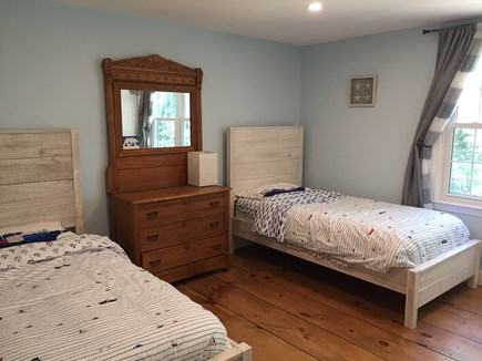 Brewster Cape Cod vacation rental - Second floor bedroom 3 – two twin beds