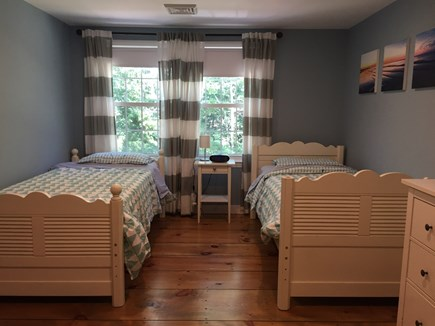 Brewster Cape Cod vacation rental - Second floor bedroom 2 – two twin beds