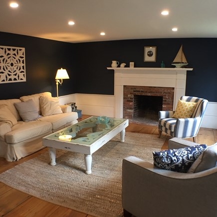 Brewster Cape Cod vacation rental - Living Room - A quiet place to relax
