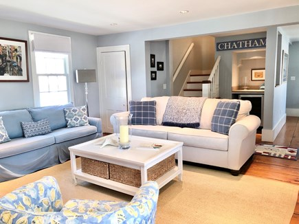 Chatham Cape Cod vacation rental - Comfortable living room area - with sleeper sofa.