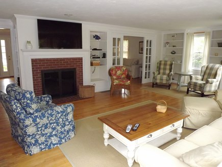 Chatham Cape Cod vacation rental - Living Area with Flat Screen TV