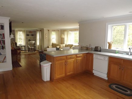 Chatham Cape Cod vacation rental - Another View of Kitchen and Living Area