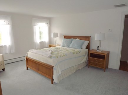 Chatham Cape Cod vacation rental - Second Floor Master Bedroom with Queen Bed & Full Bathroom