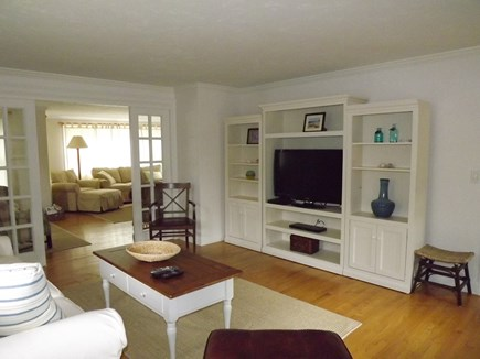 Chatham Cape Cod vacation rental - First Floor Den with Flat Screen TV