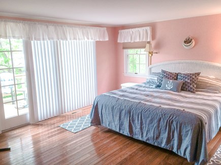 W. Chatham  Cape Cod vacation rental - King Bed in Master Bedroom and deck