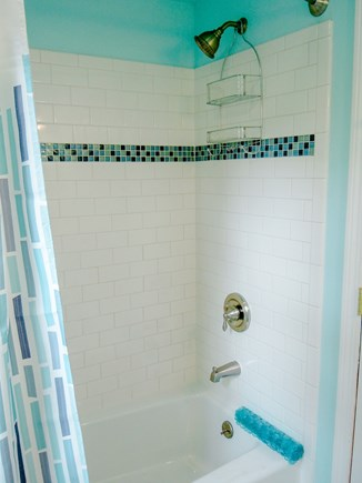 W. Chatham  Cape Cod vacation rental - Updated Main Bathroom shower