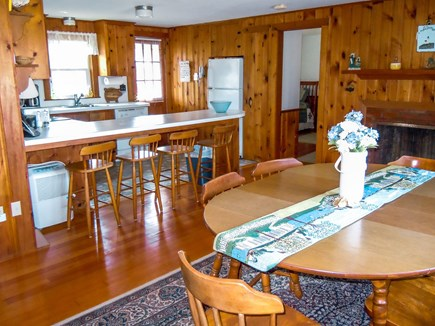 W. Chatham  Cape Cod vacation rental - Open Kitchen Dining area