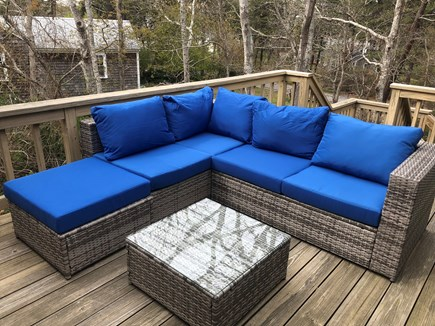 W. Chatham  Cape Cod vacation rental - Furniture on Master Deck
