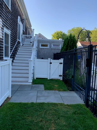 Dennis Cape Cod vacation rental - Entry Staircase and pool entrance