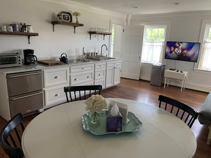 Dennis Cape Cod vacation rental - Kitchenette and dining area .