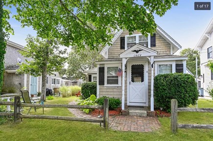 Harwich Port Cape Cod vacation rental - Front view of cottage.