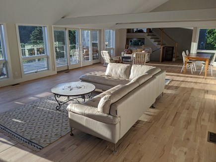 Truro Cape Cod vacation rental - 30 foot Great Room flooded with light & offering inspiring views