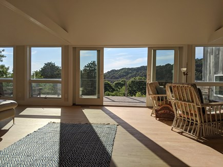 Truro Cape Cod vacation rental - Great Room with access to deck