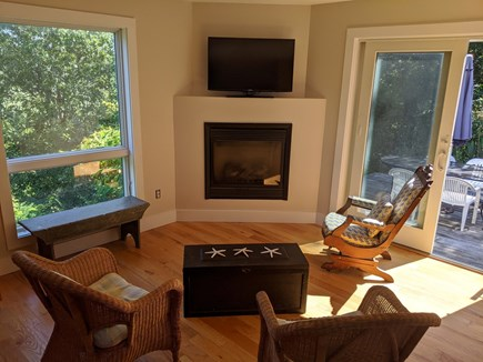 Truro Cape Cod vacation rental - Kitchen gathering area
